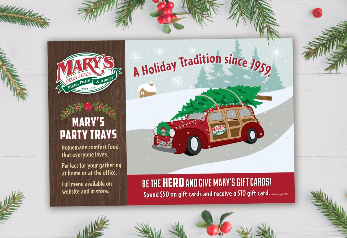 Mary's pizza shack anderson coupons